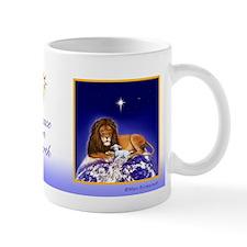 'Peace on Earth' ~ Lion & Lamb Small Mug