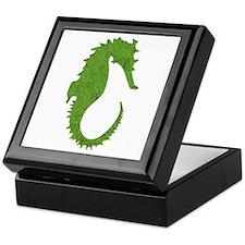 Moss Seahorse Keepsake Box