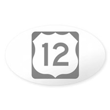 US Route 12 Decal