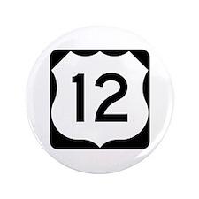 "US Route 12 3.5"" Button"