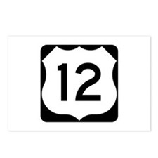 US Route 12 Postcards (Package of 8)