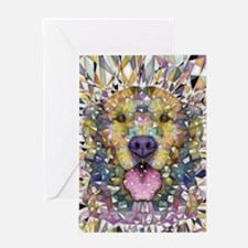 Rainbow Dog Greeting Cards