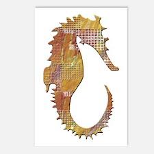 Orange Seahorse Postcards (Package of 8)
