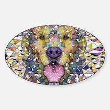 Rainbow Dog Decal