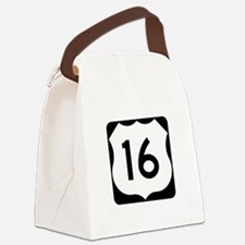 US Route 16 Canvas Lunch Bag