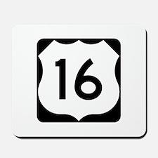 US Route 16 Mousepad