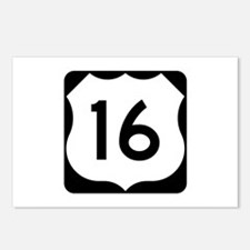 US Route 16 Postcards (Package of 8)