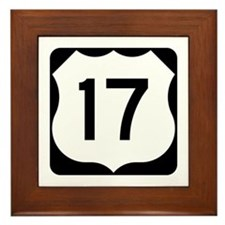 US Route 17 Framed Tile