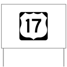 US Route 17 Yard Sign