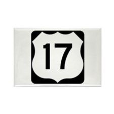US Route 17 Rectangle Magnet