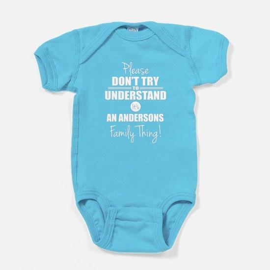 Custom Family Thing Baby Bodysuit