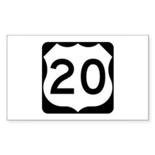 US Route 20 Decal