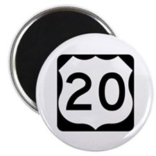 US Route 20 Magnet