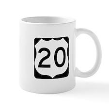 US Route 20 Mug