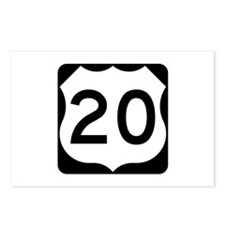 US Route 20 Postcards (Package of 8)
