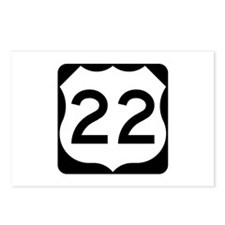 US Route 22 Postcards (Package of 8)