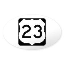 US Route 23 Bumper Stickers