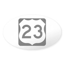 US Route 23 Decal