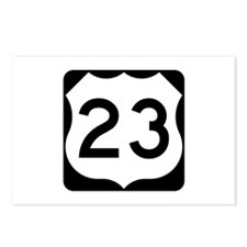 US Route 23 Postcards (Package of 8)