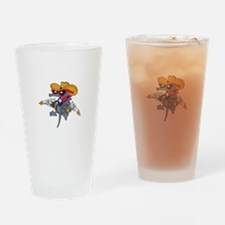 TEXAS ARMADILLO Drinking Glass