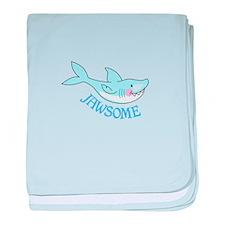 JAWSOME baby blanket