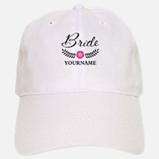 Custom Bride with Flower Wreath Baseball Baseball Baseball Cap