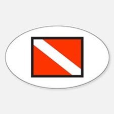SMALL DIVE FLAG Decal