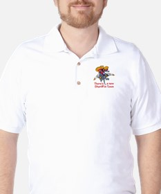 NEW SHERIFF IN TOWN Golf Shirt