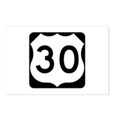 US Route 30 Postcards (Package of 8)
