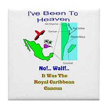 Cute Royal caribbean Tile Coaster