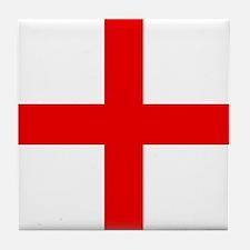 Cute Red cross Tile Coaster