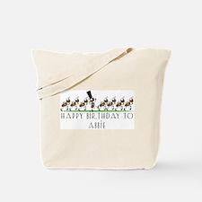 Happy Birthday Abbie (ants) Tote Bag