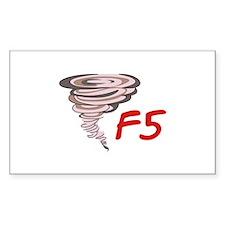F5 TORNADO Decal