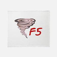 F5 TORNADO Throw Blanket