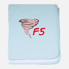 F5 TORNADO baby blanket