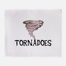 TORNADOES Throw Blanket