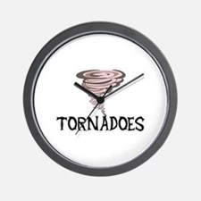 TORNADOES Wall Clock