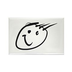 The Face Rectangle Magnet (10 pack)
