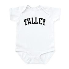 TALLEY (curve-black) Infant Bodysuit