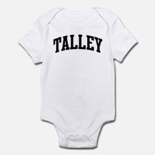 TALLEY (curve-black) Infant Bodysuit