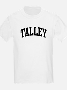 TALLEY (curve-black) T-Shirt