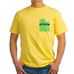Yellow T-Shirt for a True Blue Utah LIBERAL