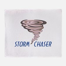 TORNADO STORM CHASER Throw Blanket