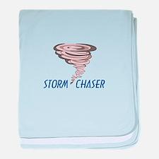 TORNADO STORM CHASER baby blanket