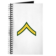 "Army E2 ""Class A's"" Journal"