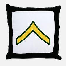 """Army E2 """"Class A's"""" Throw Pillow"""