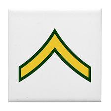 """Army E2 """"Class A's"""" Tile Coaster"""