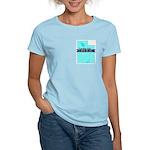Women's Pink T-Shirt for a True Blue Utah LIBERAL