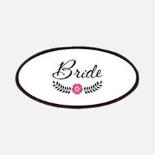 Stylish Bride Calligraphy Patches