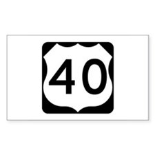 US Route 40 Decal